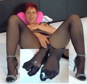 Mega geiler FIVE TOE Footjob...