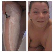 Rasur Fetisch: Beine