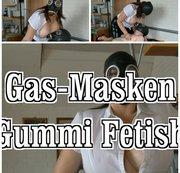 GAS Masken - Gummi Fetish